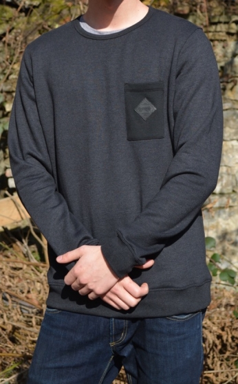 Paranoia Sweater - Crew Neck Chest Pocket